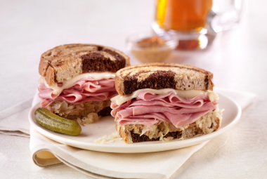 Turkey Reuben Melt | Nutritional Information | Jennie-O® Turkey