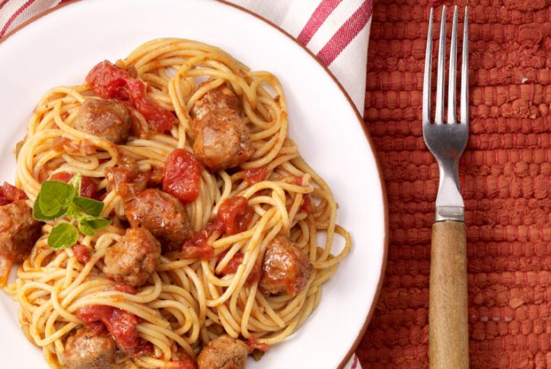 Tex-Mex Turkey Spaghetti