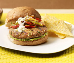Fajita Turkey Burger