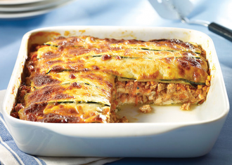 Turkey Zucchini-Layered Lasagna