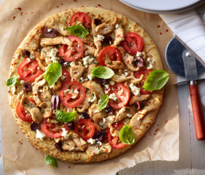Mediterranean Turkey Pizza