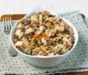 Turkey Wild Rice Casserole
