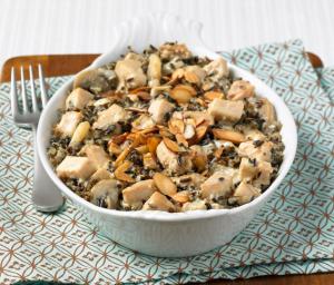 Turkey Wild Rice Casserole