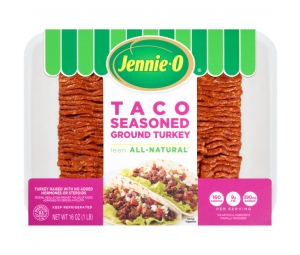Lean Taco Seasoned Ground Turkey