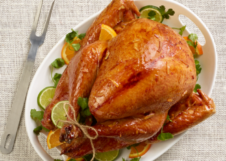 Sweet & Sassy Marmalade-Glazed Turkey