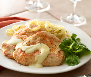Creamy Turkey Cutlets