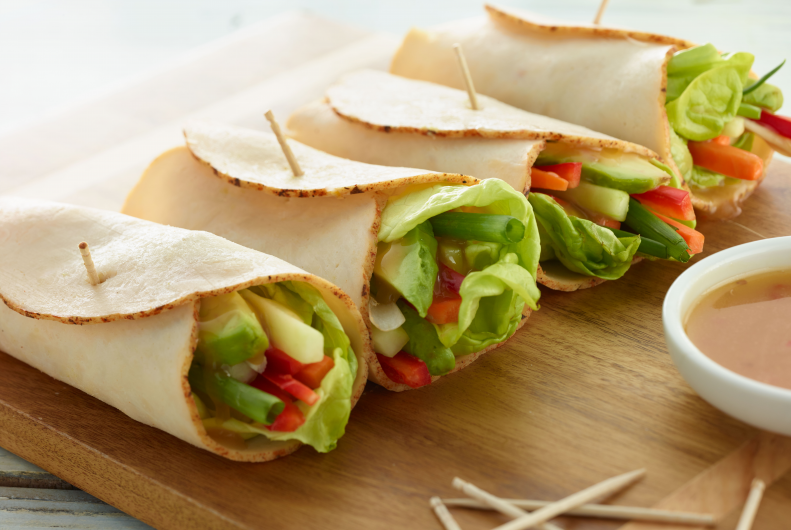 Chicken Vegetable Wrap