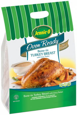 Oven Ready Bone In Turkey Breast Jennie O Product Info