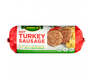 Hot All Natural* Turkey Sausage