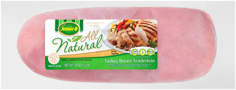 All Natural Turkey Breast Tenderloin