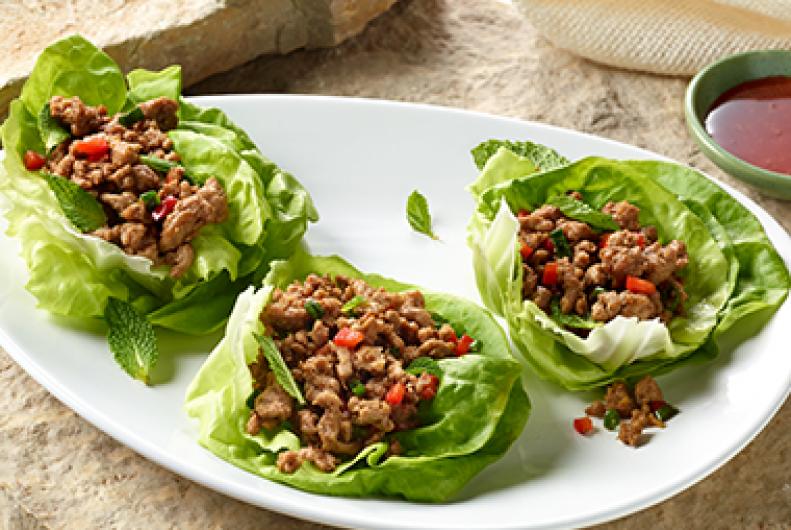 Seattle Ground Turkey Lettuce Wraps Jennie O 174 Recipes