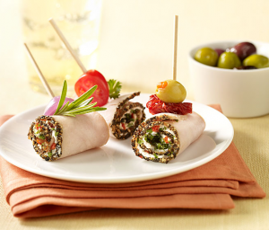 Cracked Pepper Turkey Roll-up