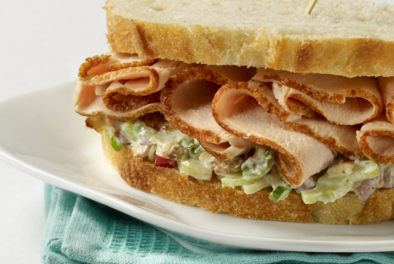 Waldorf Turkey Salad Sandwich