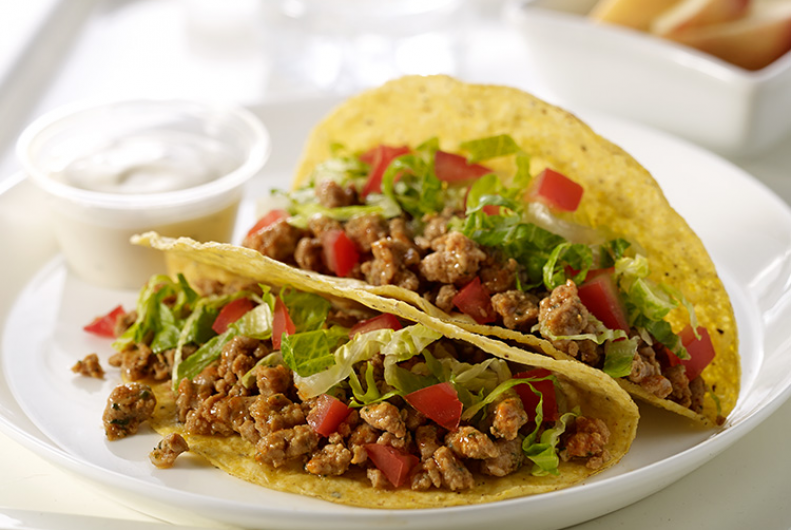 Buffalo Style Turkey Tacos | JENNIE-O® Turkey