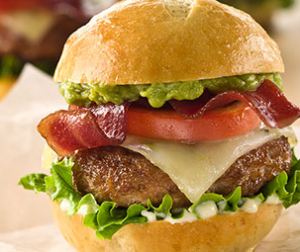 Mini Mexican Turkey Bacon Burgers