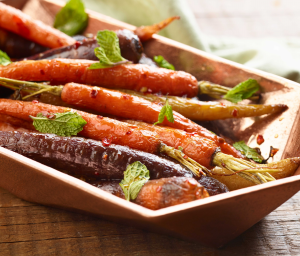 Sweet Honey Chili Glazed Carrots