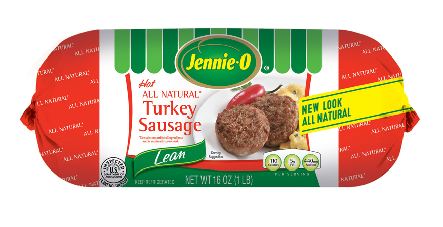 Hot All Natural Turkey Sausage