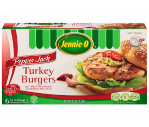 Pepper Jack Turkey Burgers