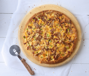 Sweet Chili Turkey Pizza