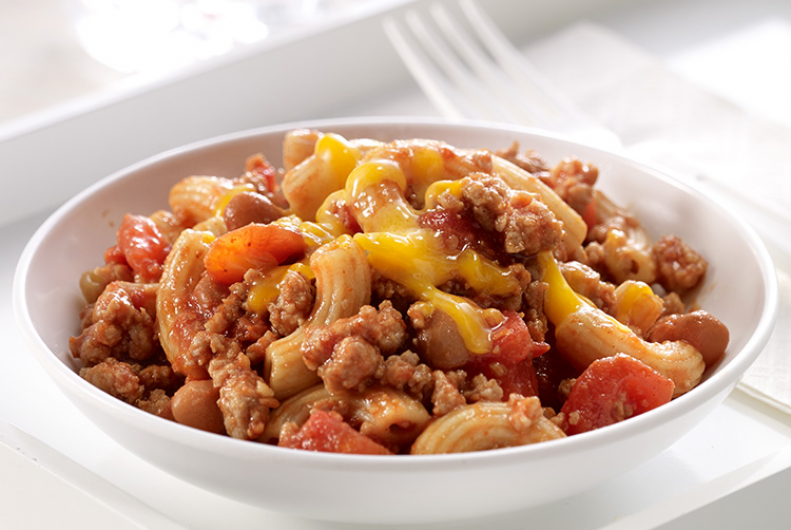 Chili Mac with Turkey