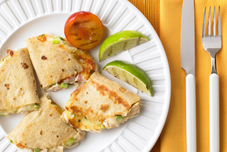 Monterey Turkey Quesadillas