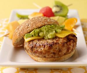 Avocado Turkey Burger