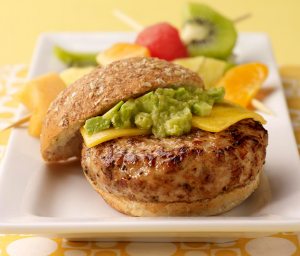 Avocado Turkey Burger