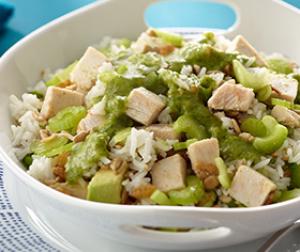 Avocado, Turkey & Rice Salad