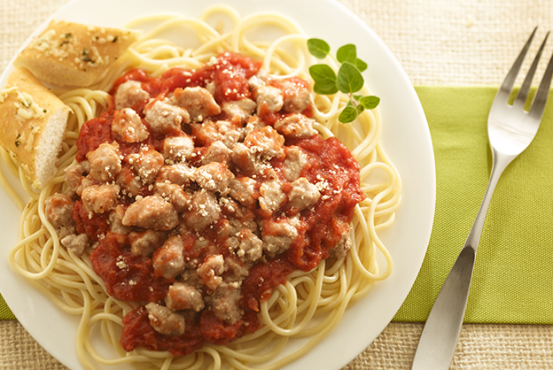 Italian Turkey Spaghetti