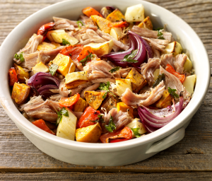 Rustic Roasted Turkey Pot Roast & Vegetables