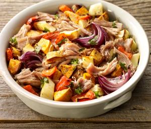 Rustic Roasted Turkey Pot Roast & Vegetables