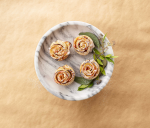 Apple Flower Tarts