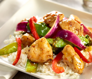 Turkey Teriyaki & Veggie Stir-Fry