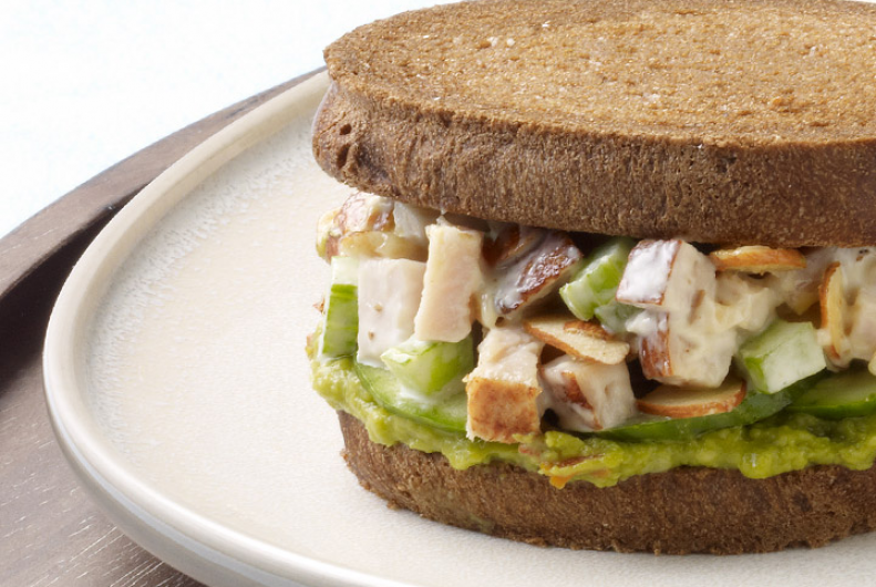 Spicy Turkey Guacamole Sandwich